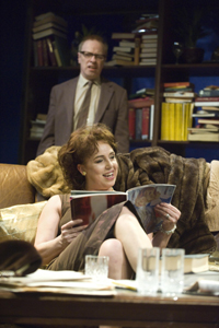 Irene Macdougall and Robert Patterson as Martha and George.   Photo Dundee Rep