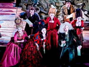 Rake's progress Scottish Opera